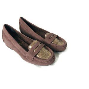 Joan Boyce Size 5.5 M 191670 Brown Leather Loafers